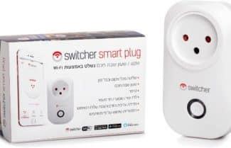 מפסק שקע חכם מבית Switcher במחיר מבצע וזמינות מיידית!