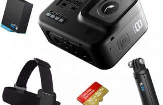 מצלמת GoPro HERO8 Black Edition בערכה מיוחדת מהיבואן רשמי
