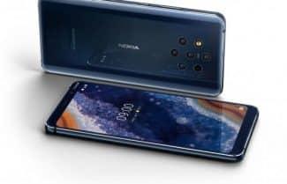 סמארטפון Nokia 9 עם חמש מצלמות אחוריות בזמינות מיידית ואחריות יבואן רשמי!