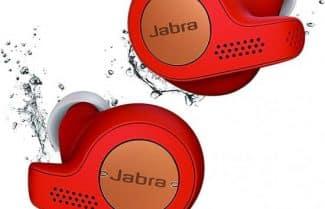 אוזניות אלחוטיות Jabra Elite Active 65t צבע אדום לוהט במחיר מבצע!