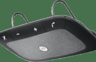 דיבורת ניידת לרכב Motorola Sonic Rider כולל תמיכה בפקודות קוליות