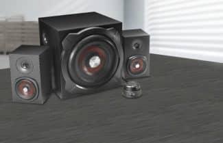 מערכת רמקולים למחשב SpeedLink Gravity Carbon 2.1 במבצע לזמן מוגבל!