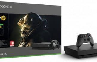 קונסולת Xbox One X 1TB כולל משחק FallOut 76 במחיר מעולה לזמן מוגבל!