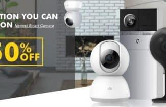 עד 50 אחוזי הנחה על מגוון רחב של מצלמות אבטחה
