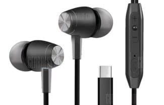 אוזניות חוטיות עם חיבור USB-C במחיר מבצע