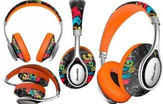 אוזניות אלחוטיות מתקפלות Bluedio A-Doodle במבצע כולל אחריות יבואן!