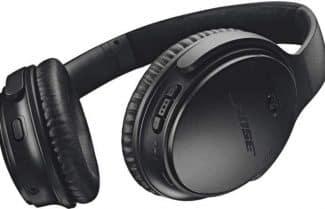 אוזניות פרימיום BOSE QuietComfort 35 II במחיר מבצע כולל אחריות יבואן!