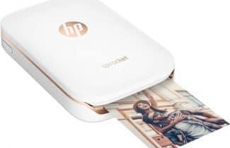 ג'ירפה בודקת: מדפסת HP Sprocket