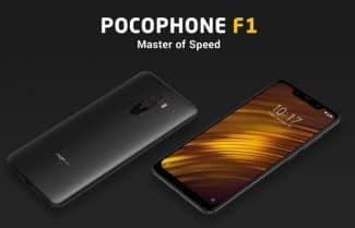 סמארטפון Pocophone F1 גירסת 6/128 עם קופון הנחה אטרקטיבי!