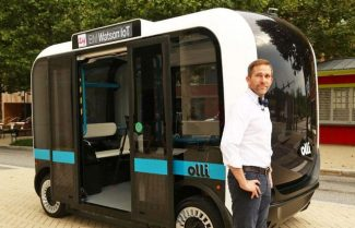 תכירו את Olli: אוטובוס חכם ללא נהג המתבסס על בינה מלאכותית מבית IBM
