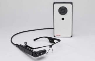 טושיבה מכריזה על מיני מחשב זעיר הנעזר במשקפי מציאות רבודה