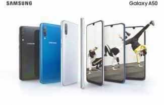 עדכון חדש ל-Galaxy A50 משפר את המצלמה הקדמית וחיישן טביעת האצבע