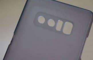 תמונות כיסוי גב אחורי 'מאשרות' לנו פרטים על ה-Galaxy Note 8