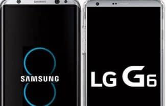 דיווח: LG G6 יושק ב-10 במרץ, Galaxy S8 ב-21 באפריל