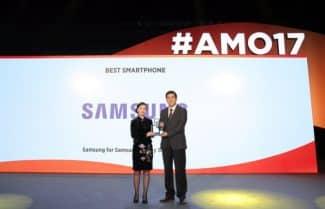 """כנס MWC אסיה: סמסונג +Galaxy S8 ו-Galaxy S8 הם """"הסמארטפונים הטובים ביותר"""""""