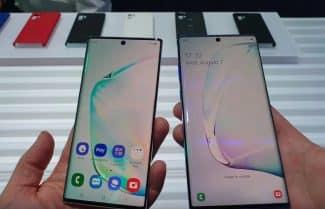 הצצה ראשונה: סמסונג Galaxy Note 10 ו-Galaxy Note 10 Plus