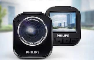 מצלמת רכב מבית פיליפס עם תמיכה ב-1080p במחיר אטרקטיבי