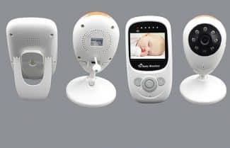 מוניטור לחדר ילדים עם חיישן תנועה וטמפרטורה – עכשיו עם קופון הנחה
