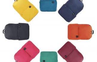 תיק גב קומפקטי של שיאומי במבחר צבעים עם קופון הנחה!