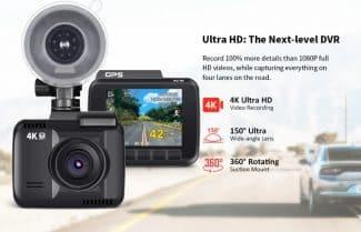 מצלמת רכב מתקדמת עם צילום 4K – במחיר מעולה כולל קופון ומשלוח מהיר!