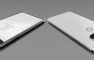 נחשף בתמונות ראשונות: LG V20 ישלב רצועת מסך עליונה, צמד מצלמות אחוריות