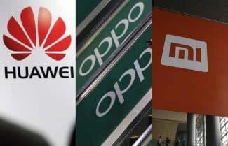מחקר: מכירות סמארטפונים בסין בירידה; וואווי עדיין ראשונה