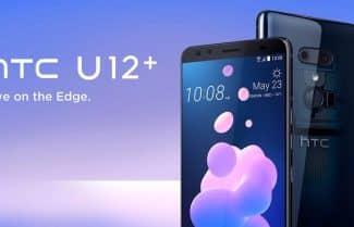 הוכרז: +HTC U12 – מסך 6 אינץ', ארבע מצלמות ורמקולים סטריאופוניים