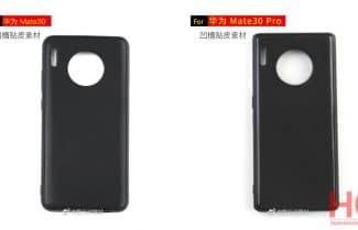 תמונה חושפת את גב ה-Huawei Mate 30 ו-Huawei Mate 30 Pro