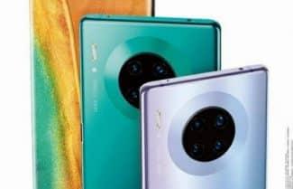 תמונה 'רשמית' חושפת את מערך הצילום ב-Huawei Mate 30 Pro