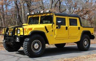 ג׳ינרל מוטורס רוצה לייצר מהדורה חשמלית לדגמי Hummer