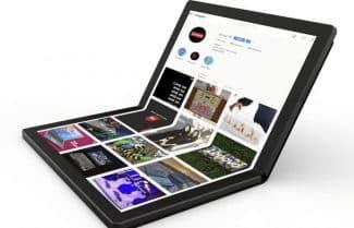 לנובו מציגה את המחשב הנייד הראשון בעולם עם מסך מתקפל