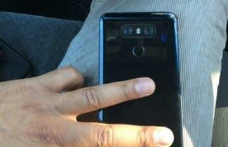 תמונה חדשה חושפת את חלקו האחורי של ה-LG G6