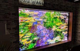 """תערוכת CES 2018: צפו בוידאו – טלוויזית """"The Wall"""" של סמסונג"""