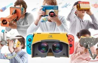 גם במציאות מדומה: חברת נינטנדו מציגה את Labo VR