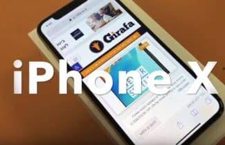 ג'ירפה מתרשמת: היכרות ראשונית עם ה-iPhone X של אפל
