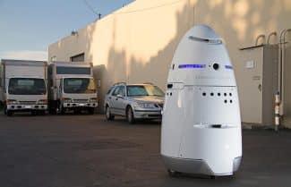 """אל תתעסקו איתו: UBER """"מעסיקה"""" רובוט-שומר בחניוני החברה בסן פרנסיסקו"""