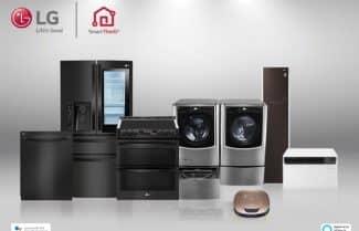 חברת LG מוסיפה תמיכה ב-Alexa לסדרת מוצרי SmartThinQ