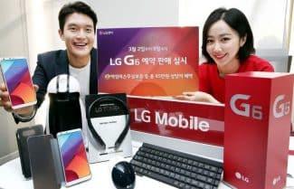 דרום קוריאה: LG G6 יוצא למכירה מוקדמת עם הטבות בשווי 390 דולרים