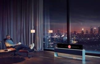 חברת LG חושפת את טלוויזית ה-OLED המתגלגלת הראשונה בעולם