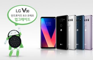 לפני סמסונג: LG מתחילה לשדרג את ה-LG V30 לאנדרואיד 8 אוראו