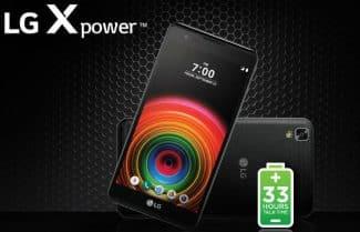 ג'ירפה בודקת: LG X Power