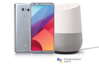 """ארה""""ב: רוכשי LG G6 יקבלו מתנה את ה-Google Home"""