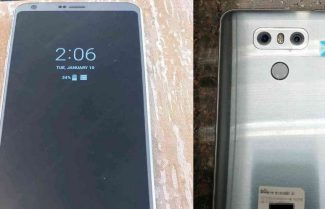 תמונות חדשות מציגות את ה-LG G6, הפעם עם תצוגת Always-on