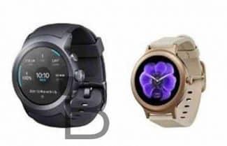 לפני ההכרזה: האם כך נראים צמד השעונים החכמים מבית LG וגוגל?