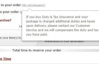 האתר Lightinthebox החל להציע ביטוח מס – מה זה אומר?