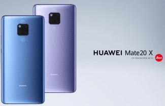 סמארטפון Huawei Mate 20 X עם מסך 7.2 אינץ' במחיר מבצע!
