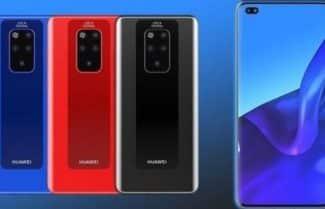 האם כך ייראה ה-Huawei Mate 30 Pro?