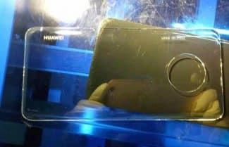 תמונה חושפת את מערך הצילום ב-Huawei Mate 30 Pro