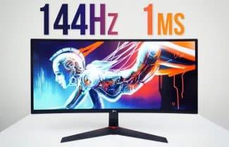 """אמזון פריים ארה""""ב: מסך מחשב לגיימרים 34 אינץ' קעור של LG – במחיר מבצע!"""