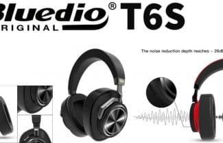 אוזניות פרימיום אלחוטיות Bluedio T6S במחיר מעולה לזמן מוגבל!